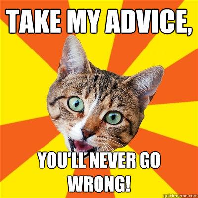 Take-my-advice